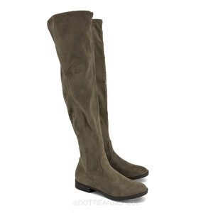 Marc Fisher Jet 2 Over The Knee Suede Boots 6.5